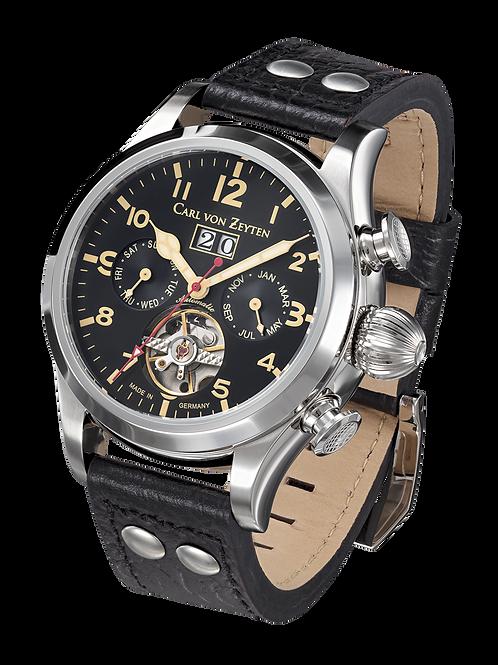 Automatik Herren Armbanduhr Wutach Lederband CVZ0025BK