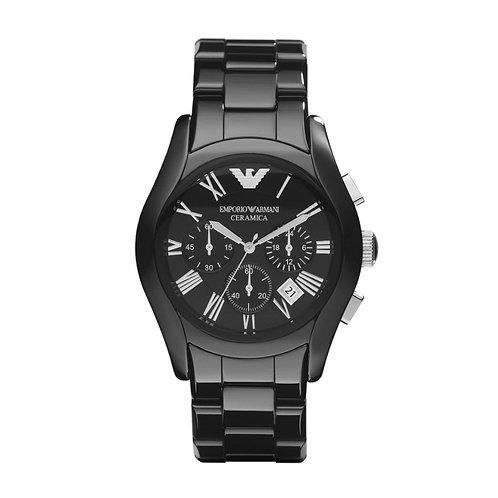 Details zu  Emporio Armani Herren Armbanduhr Keramik Chronograph AR1400