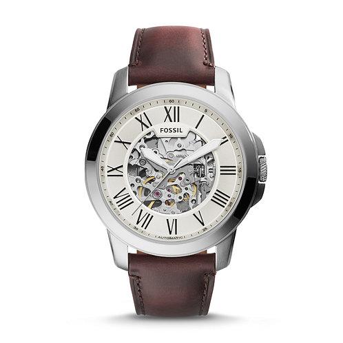 Fossil Herren-Uhr M Herrenuhr Leder/Automatik ME3099