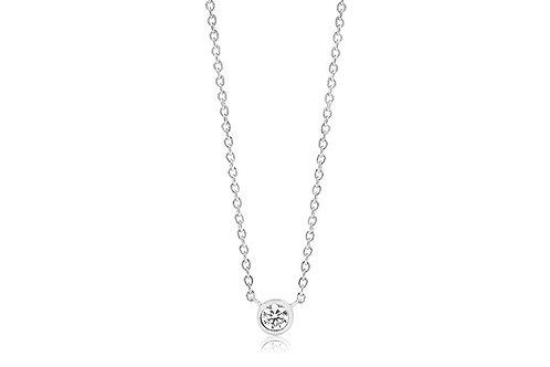 Halskette Sardinien Uno mit weiß Zirkonen SJ-C1016-CZ
