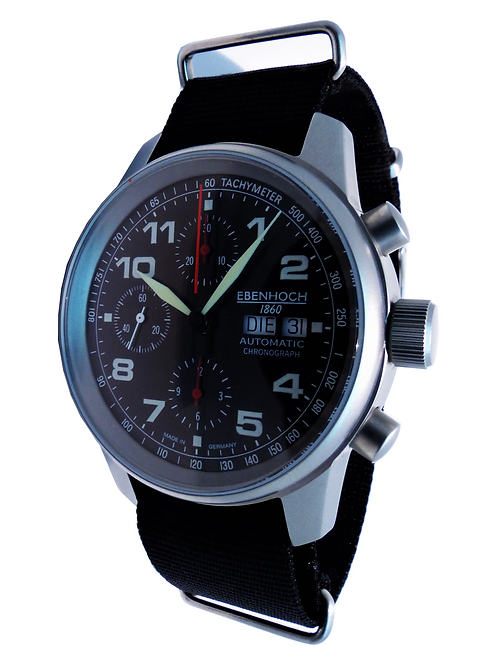 Herren Armbanduhr Chronograph EH16062 Fliegeruhr