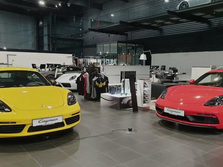 Event im Porsche Zentrum Süd München