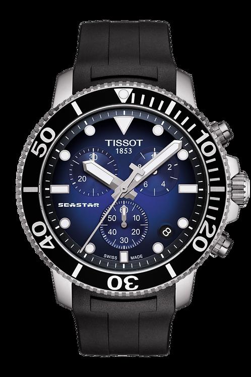 TISSOT Herrenuhr SEASTAR 1000 CHRONOGRAPH  T1204171704100