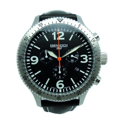 Heren Armbanduhr Chronograph Quarzwerk EH19069