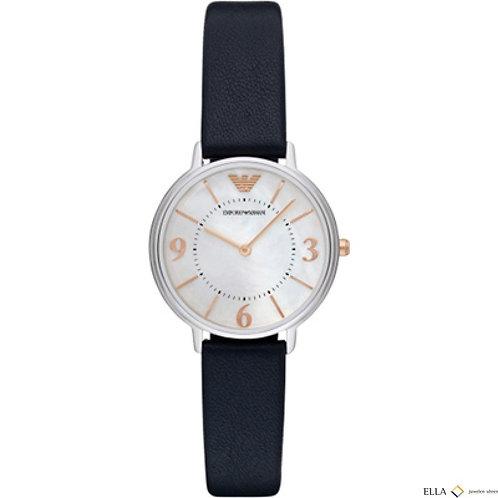 Emporio Armani Damen Armbanduhr Lederband AR2509