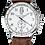 Thumbnail: Carl von Zeyten GMT Etterlin Herrenuhr braun/silber CVZ0006SL
