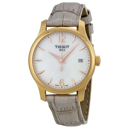 Tissot Damen-Armbanduhr Tradition Analog T0632103711700