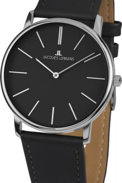 JACQUES LEMANS Uhr Metallband Edelstahl Classic 1-2004A