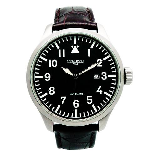 Herren Armbanduhr Automatik Fliegeruhr EH16055