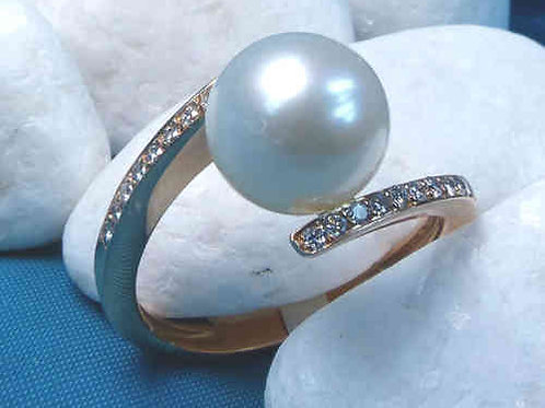 Details zu  Unique Pearls Perlring 750/- UP19RG519