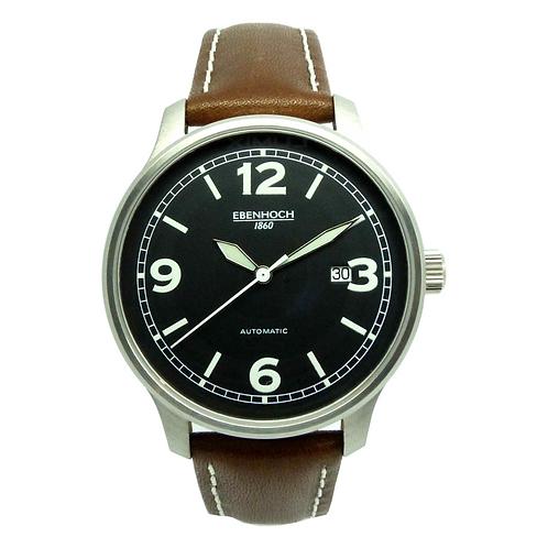 Herren Armbanduhr Automatik Fliegeruhr EH2824-2