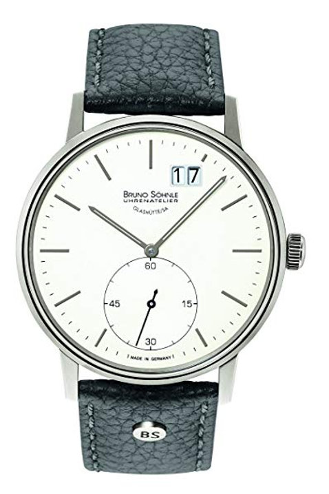 Bruno Söhnle GMT Herren Uhr mit Leder Armband 17-13179-247