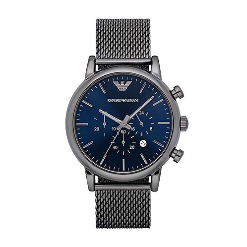 Emporio Armani Herren-Armbanduhr Metallband AR1979