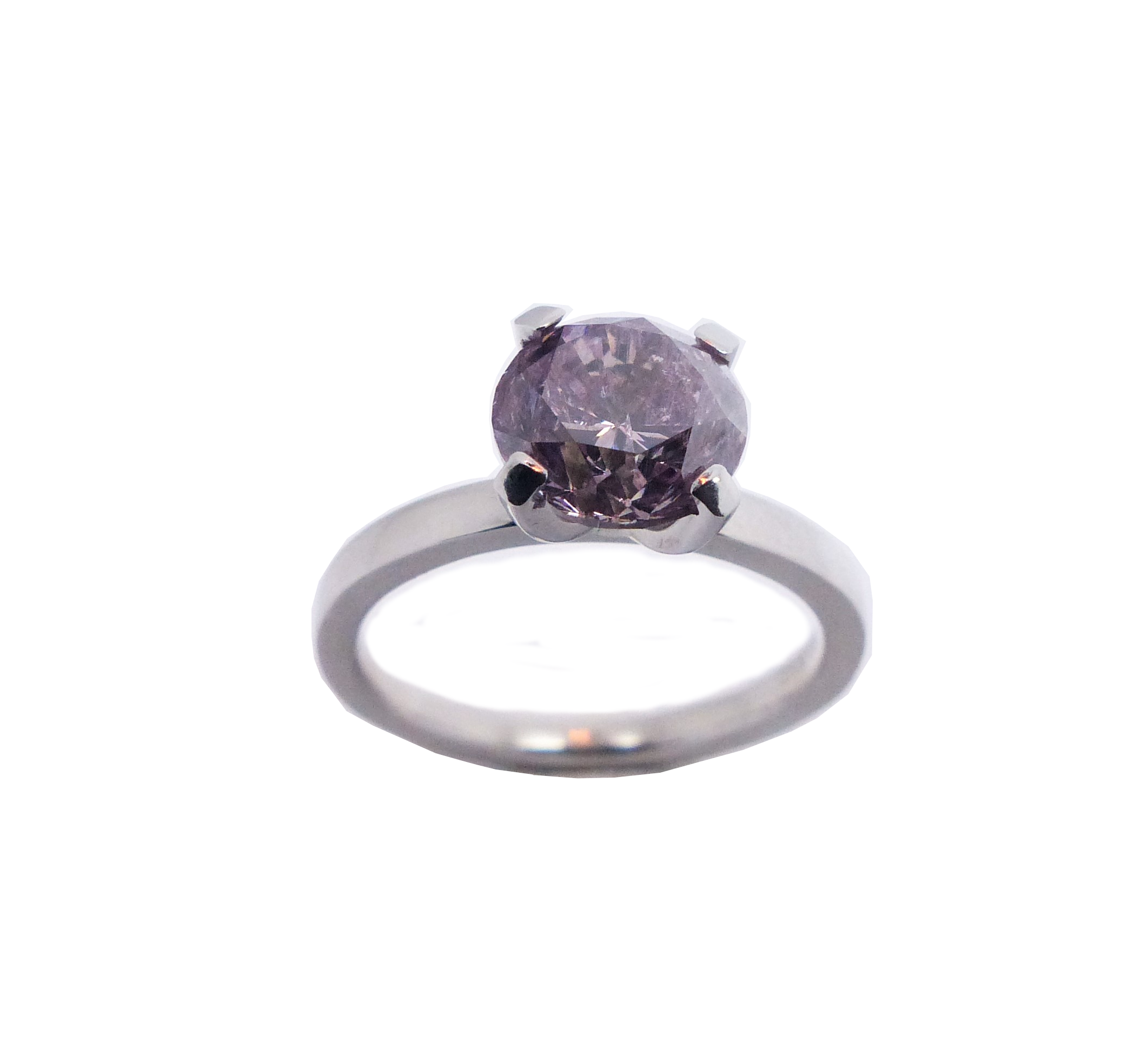 Pink Diamanit 2ct Platin