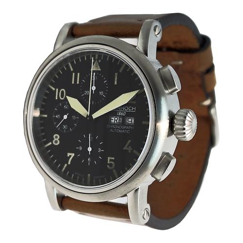 Herren Armbanduhr Chronograph EH 7H186 Fliegeruhr