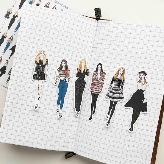 Coco Fashion girls ss 2020 Stickers - Whole Body Ver.