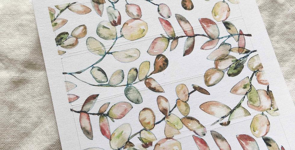 Autumn Branches Pattern Sticker