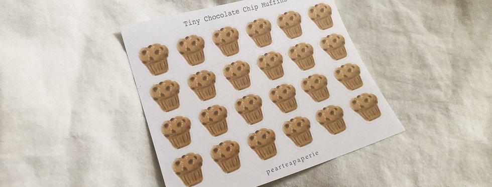 Tiny Chocolate chip Muffins