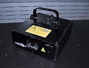 Laserworld CS-2000 RGB MK3: Prototyyppi