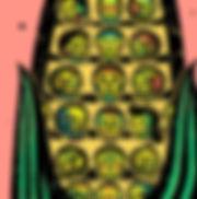 Festival de las Calaveras - Corn  croppe