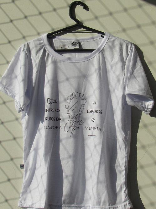 """Camisa """"Espelhos sem memória"""""""