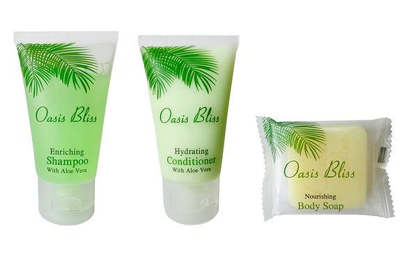 Shampoo, Conditioner, Soap Value Set (50 pcs each)