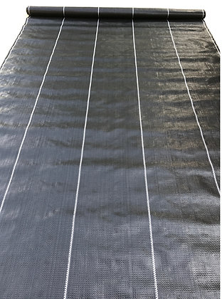 Black 3.24 oz Weed Barrier Fabric