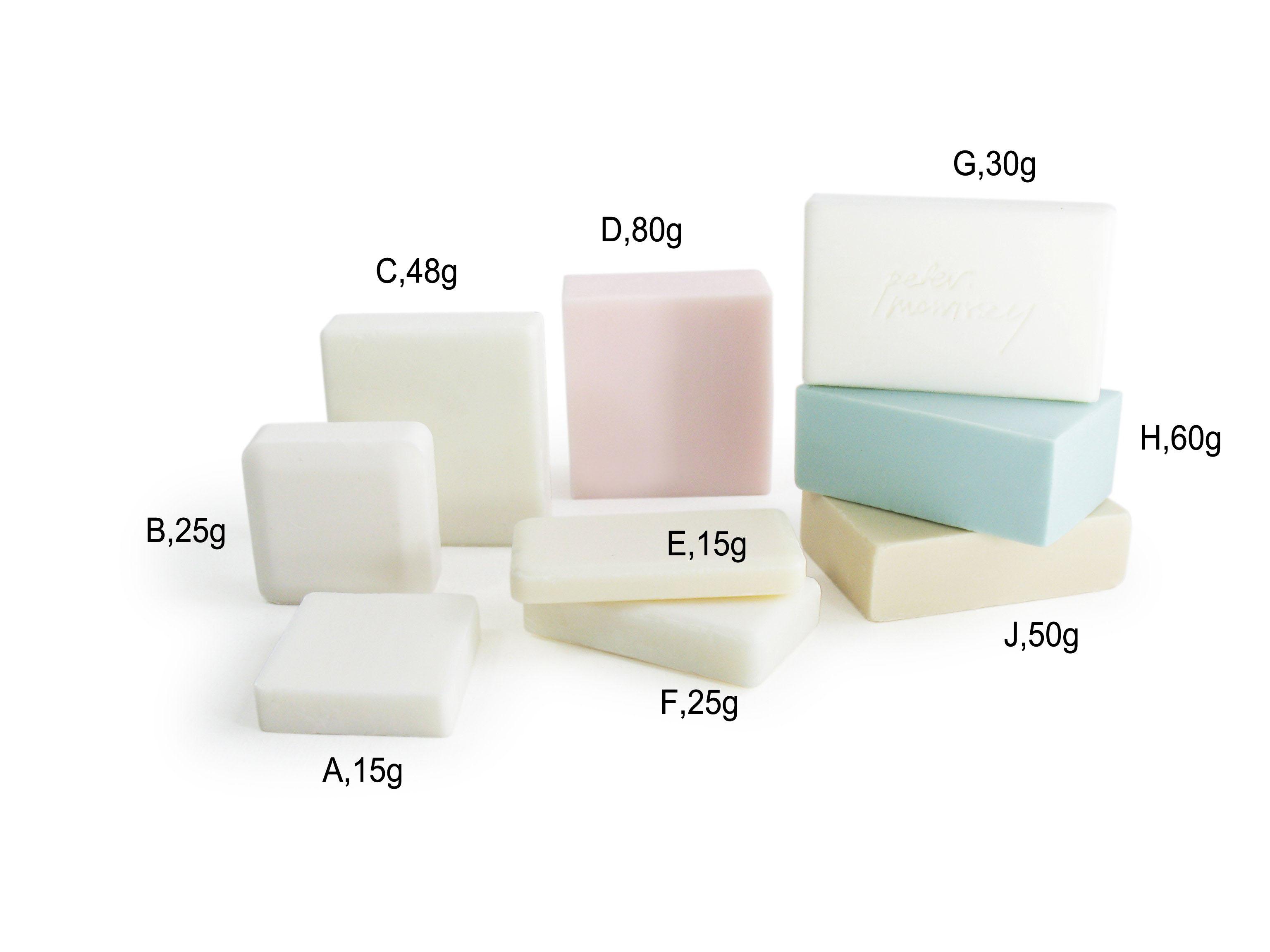 Custom hotel soap