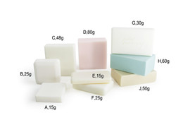 Custom hotel soap different sizes and weights picture 4 of 6