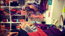 Photo) Work in Knitster place