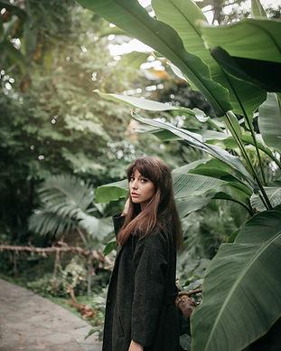 Posing in a Garden