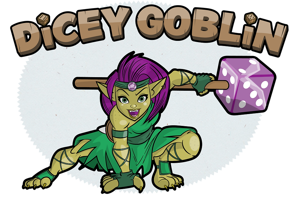 Dicey Goblin Character Design