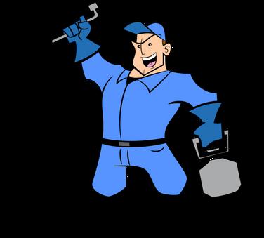 pest control cartoon character