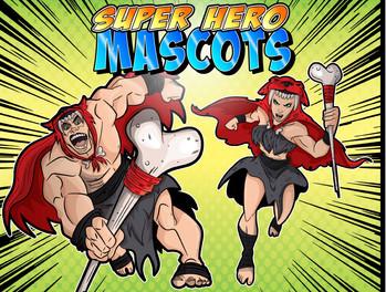 Super Hero Mascots