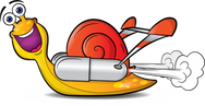 snail cartoon character
