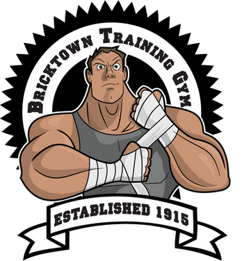 muscular man cartoon character