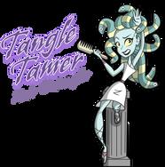 medusa cartoon character