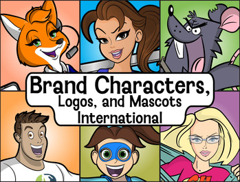 Brand Character Designs