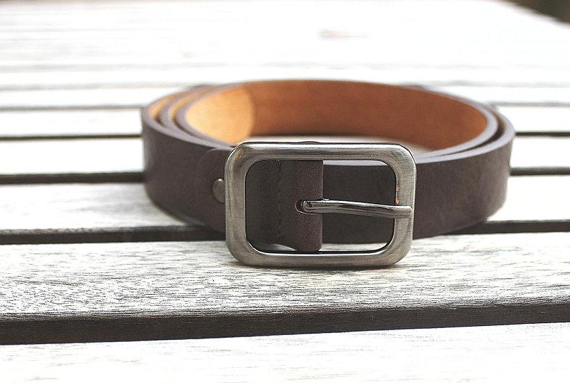 Cinturón hebilla rectangular