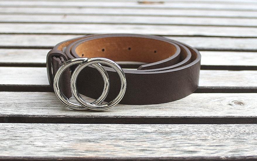 Cinturón doble anilla