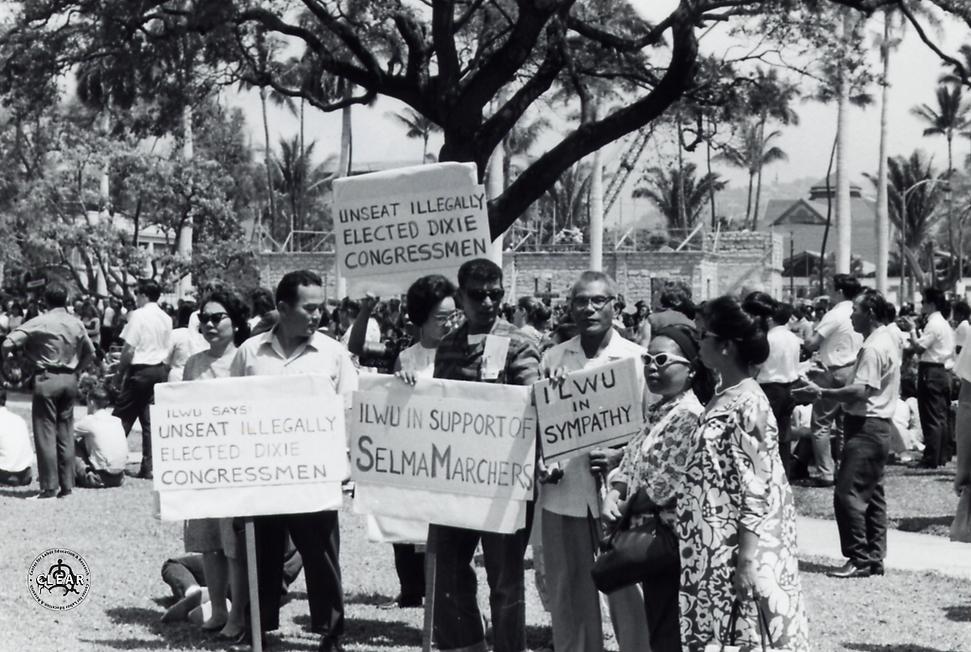 Civil Rights Demo ILWU 1965