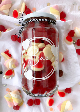 VALENTINES LARGE JAR