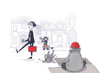 Julia Weinmann Illustration Hamburg- Fus