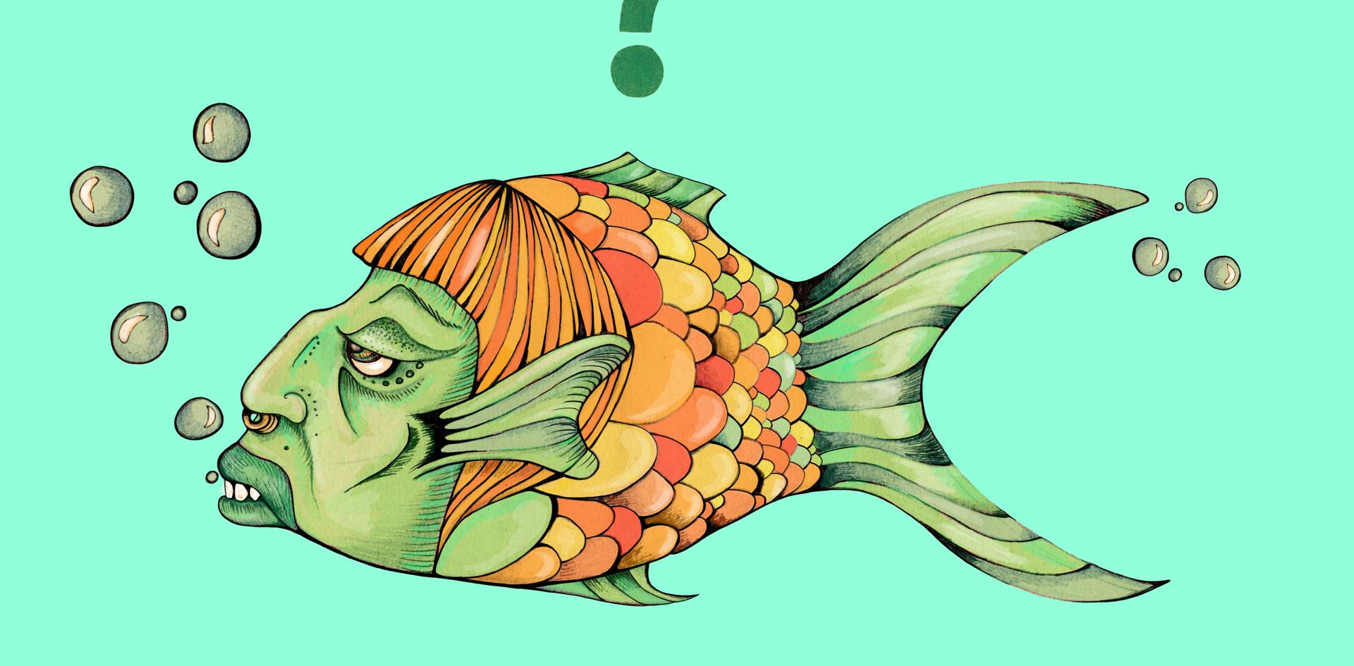 Fischfratze Julia Weinmann