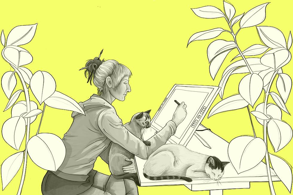 Julia Weinmann Illustration Kinderbuch Hamburg