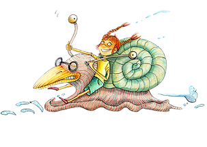 Julia Weinmann Illustration Kinderbuch Hamburg Illustratorin