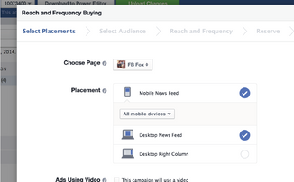 Facebook mobile app ads: More auto-play, more predictable reach & frequency