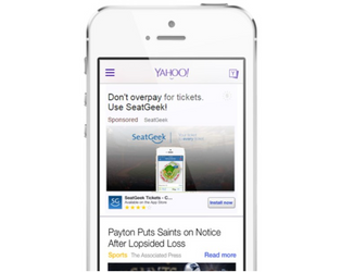 Yahoo Gets Into App Install Ads: Now Offered On Gemini