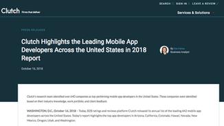 Suite Twenty Four Named Top App Developer in the United States!