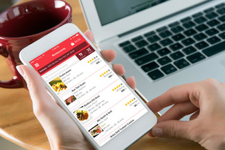 The remarkable growth of food delivery apps